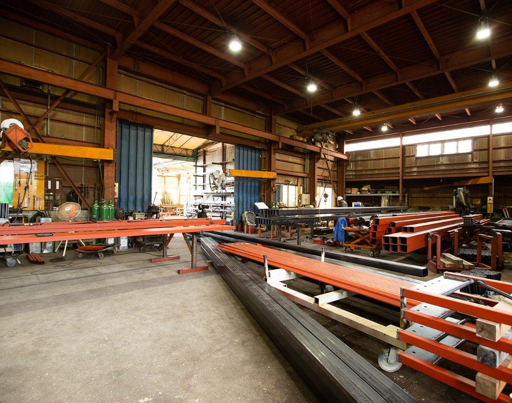 溶接・加工場