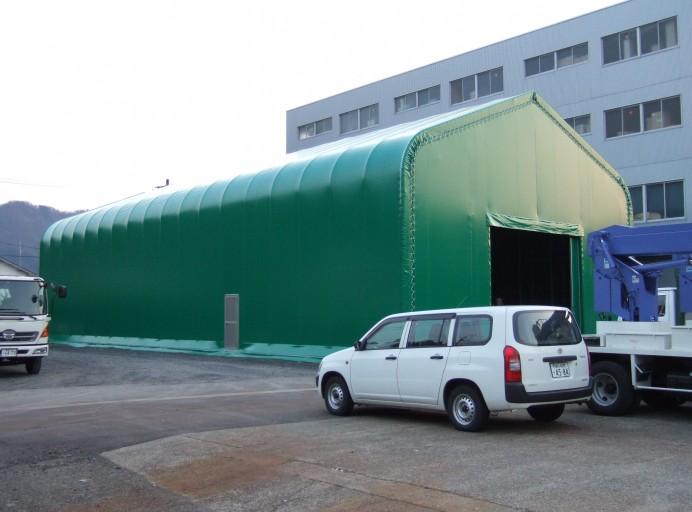 固定テント倉庫[積雪2m地域]